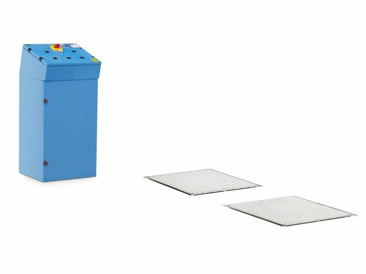 Elektrohydraulische Gelenkspiel-Testvorrichtung