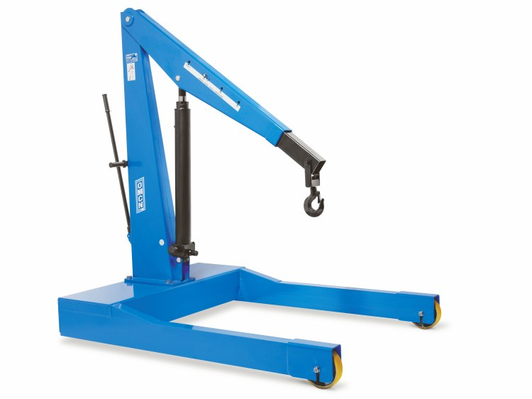 Trolley hydraulic cranes