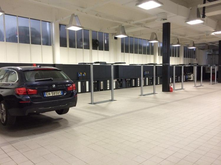 BMW Mini sollevatori a cilindri interrati OMCN