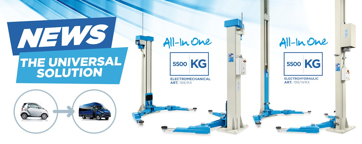 The universal solution All-In One 5500 KG