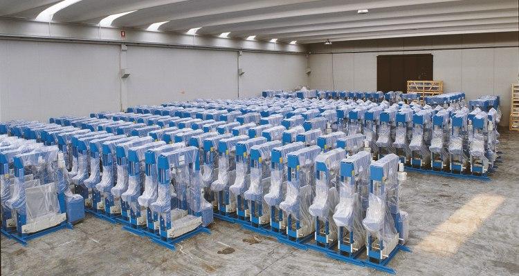 Produzione ponti sollevatori di qualità OMCN