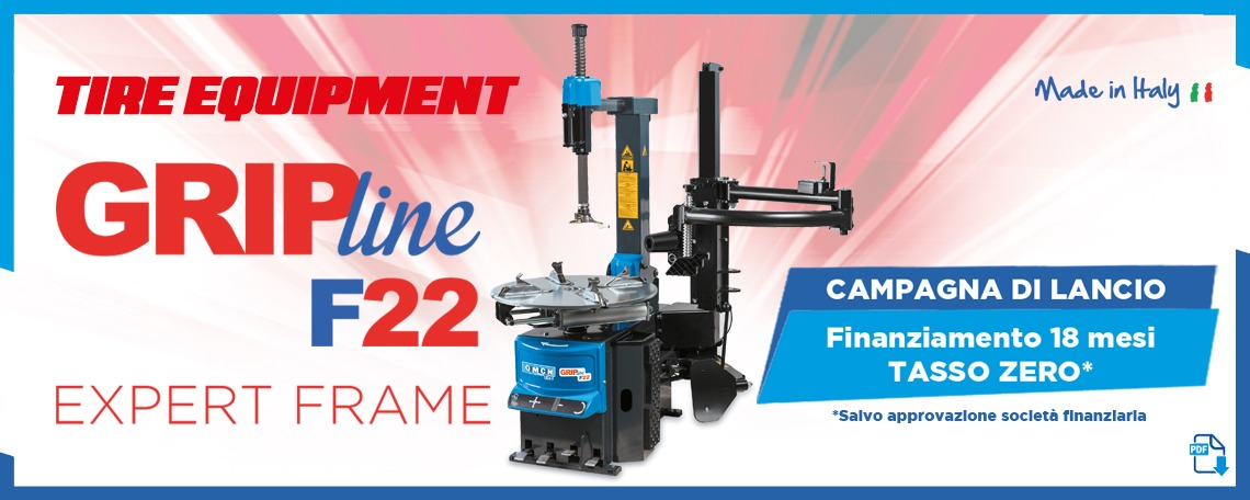 Grip Line F22 - Tire Equipment