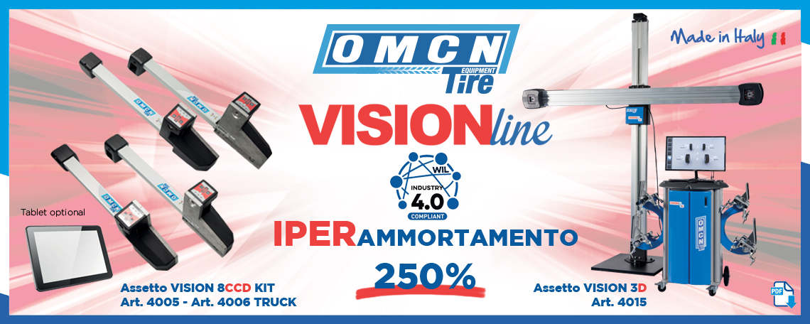 Vision Line OMCN - Tire Equipment