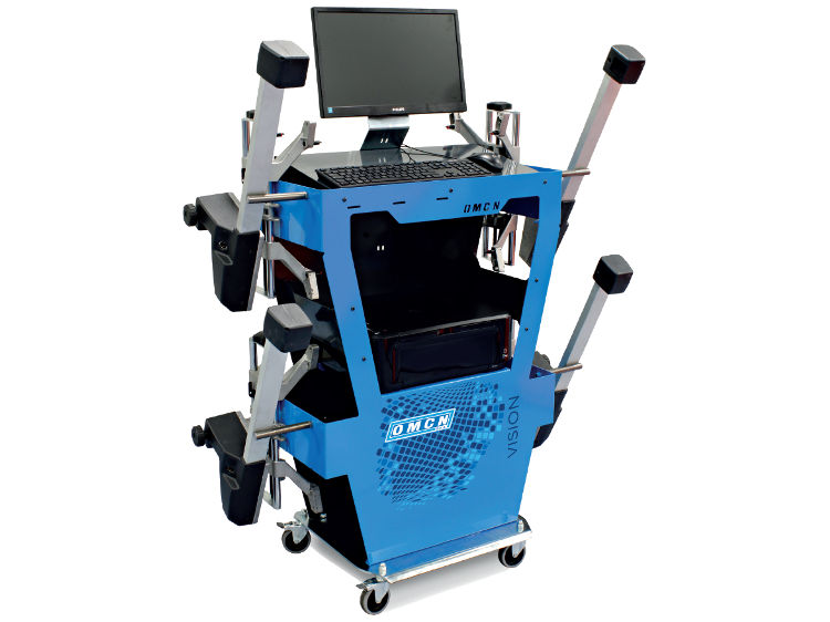 VISION45 + trolley workstation