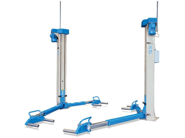 Elektromechanische 2-Säulen Hebebühnen neu