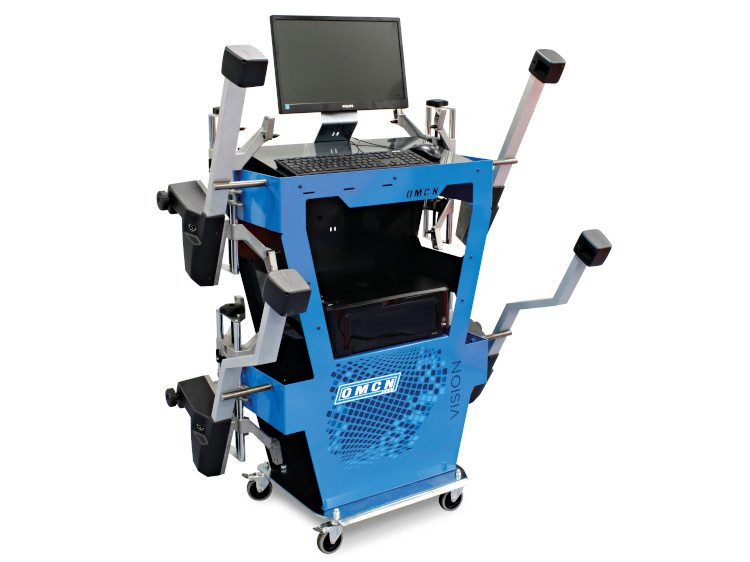 VISION46 + trolley workstation