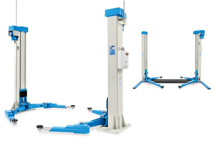 Electromechanical 2-post lifts